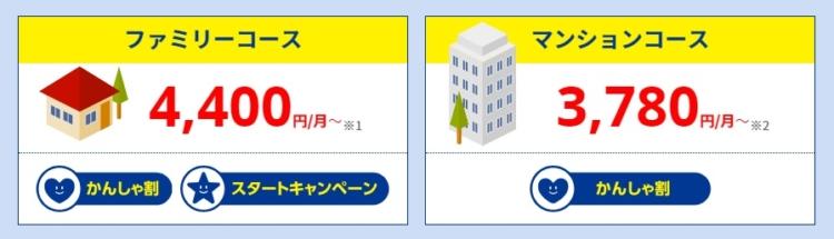 AsahiNet光 スタートキャンペーン