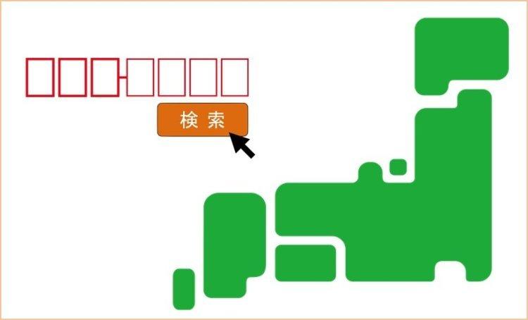 ソフトバンク光の提供エリア検索方法