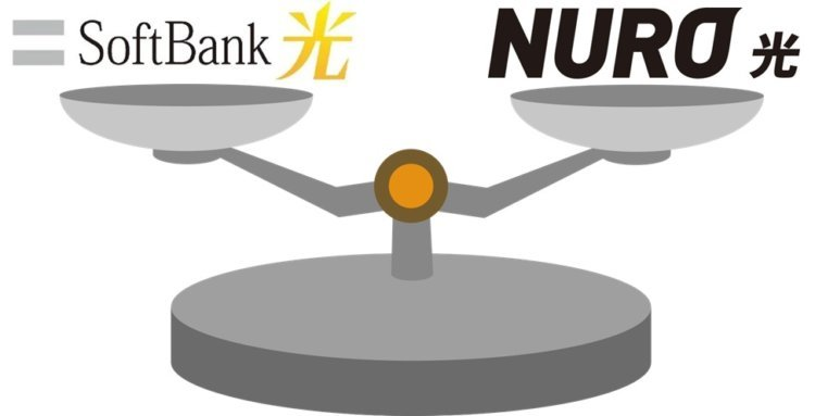「ソフトバンク光 or NURO光」2年契約の解約違約金は同等