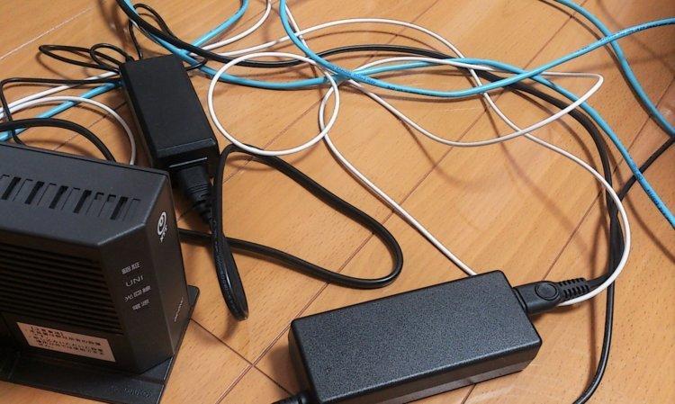 ソフトバンク光 まずは返却物を確認する