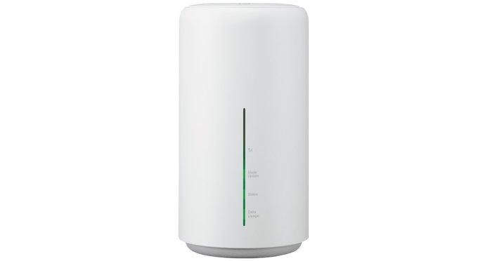 利用できるモバイルルーター(端末)Speed Wi-Fi HOME L02